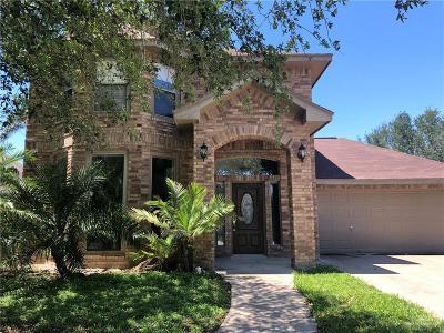 McAllen TX Single Family Home For Sale: $184,900