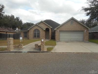 McAllen TX Single Family Home For Sale: $174,900