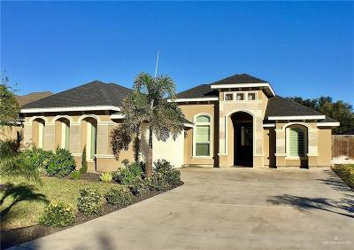 McAllen Single Family Home For Sale: 7914 N 28th Lane #1