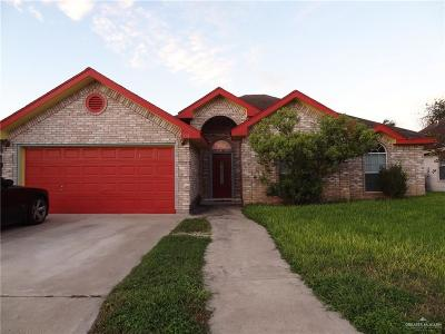 Pharr Single Family Home For Sale: 714 Chickadee Avenue