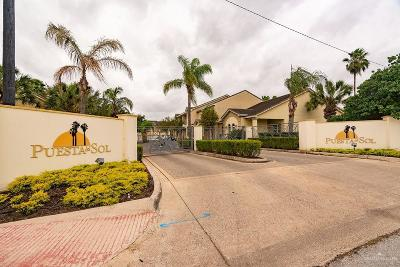 McAllen Condo/Townhouse For Sale: 800 Sunset Drive #C24