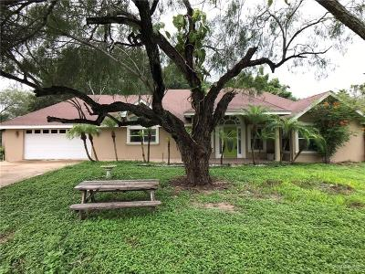 McAllen Single Family Home For Sale: 9009 N Ware Road