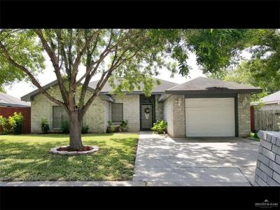Pharr Single Family Home For Sale: 3406 N Amaretto Drive