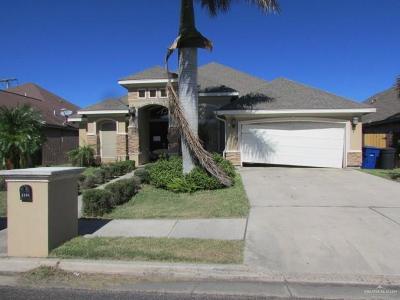McAllen TX Single Family Home For Sale: $206,000