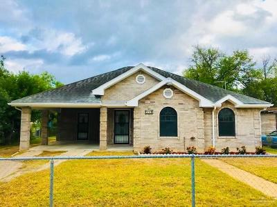 Weslaco Single Family Home For Sale: 711 E Plaza Street