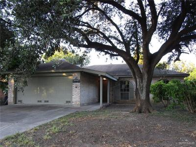 McAllen Single Family Home For Sale: 2408 Gull Avenue