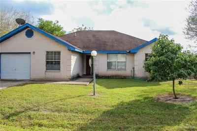 Harlingen Single Family Home For Sale: 15128 Vista Del Sol Drive