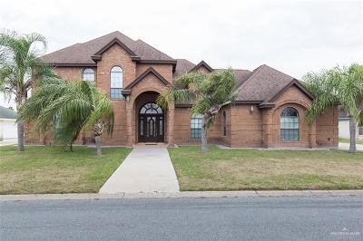 Pharr Single Family Home For Sale: 503 Melanie Drive