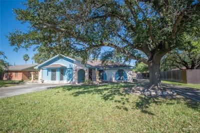 Pharr Single Family Home For Sale: 921 E Kathy Street