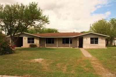 Pharr Single Family Home For Sale: 1103 E Kathy Street