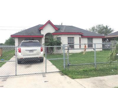 Pharr Single Family Home For Sale: 6508 S Rivera Street