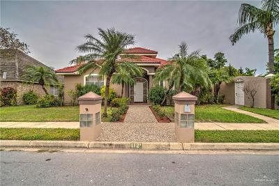 McAllen Single Family Home For Sale: 112 Goldcrest Avenue