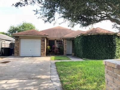 McAllen TX Single Family Home For Sale: $129,000