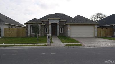 McAllen TX Single Family Home For Sale: $240,000