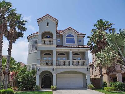 South Padre Island TX Single Family Home For Sale: $965,000