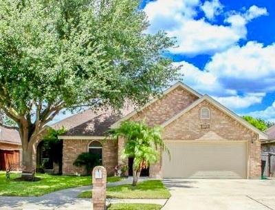 McAllen TX Single Family Home For Sale: $174,900