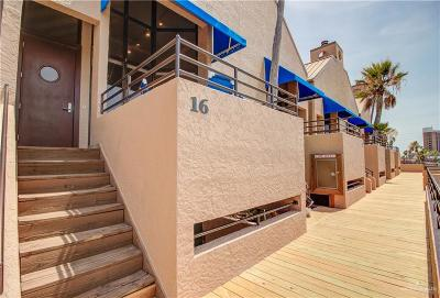 South Padre Island TX Condo/Townhouse For Sale: $659,000