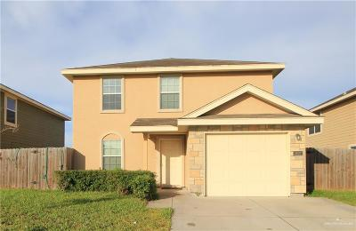 Edinburg Single Family Home For Sale: 3807 Alvarado Street