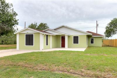 Mercedes Single Family Home For Sale: 7818 Vera Lane