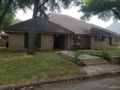 McAllen TX Single Family Home For Sale: $299,900