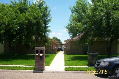 Pharr Multi Family Home For Sale: 2212 N Erica Street