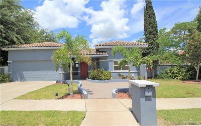 McAllen Single Family Home For Sale: 7709 N 5th Street