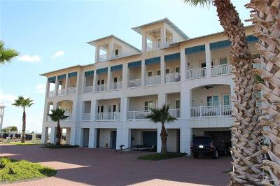 South Padre Island TX Condo/Townhouse For Sale: $950,000