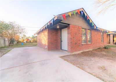 Weslaco Single Family Home For Sale: 2213 Las Brisas Drive