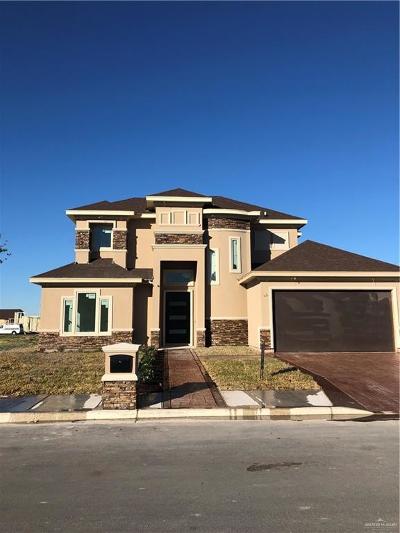 Pharr Single Family Home For Sale: 804 W Arapaho Avenue
