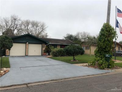 Harlingen Single Family Home For Sale: 2301 N Whitehouse Circle