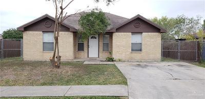 Pharr Single Family Home For Sale: 715 W Dove Avenue