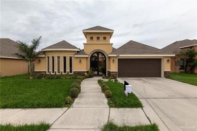 Pharr Single Family Home For Sale: 608 E Canela Avenue