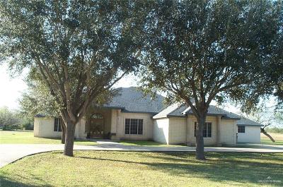 Edinburg Single Family Home For Sale: 1115 N Hoehn Road
