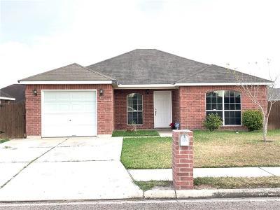 Pharr Single Family Home For Sale: 8413 S Carlos Street