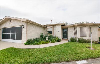 Harlingen Single Family Home For Sale: 4333 N Minnesota Street