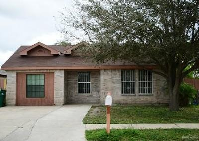 Pharr Single Family Home For Sale: 4200 Laguna Vista Street