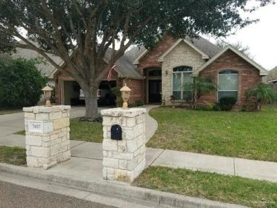 McAllen Single Family Home For Sale: 7407 N 16th Lane
