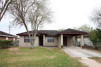 Cameron County Single Family Home For Sale: 418 Los Fresnos Avenue