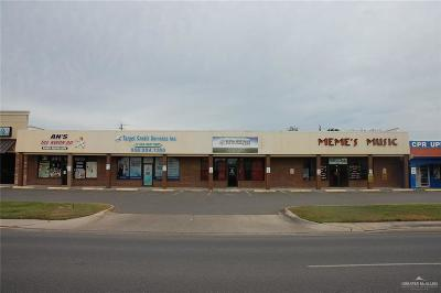 McAllen Commercial For Sale: 2612 Pecan Boulevard
