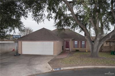Pharr Single Family Home For Sale: 1323 Cynthia Lane