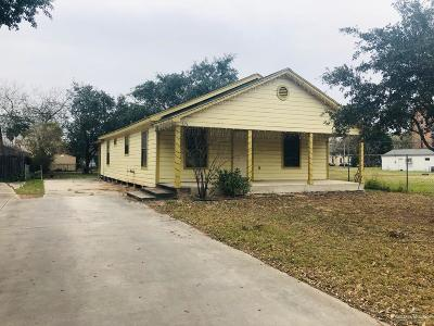 Weslaco Single Family Home For Sale: 513 S Indiana Avenue