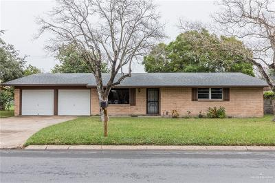 McAllen Single Family Home For Sale: 3012 N 6th Street