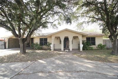Pharr Single Family Home For Sale: 5913 N Sugar Road