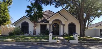 McAllen TX Single Family Home For Sale: $285,000