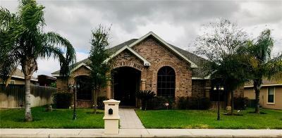 Pharr Single Family Home For Sale: 1809 S Villa Real Drive