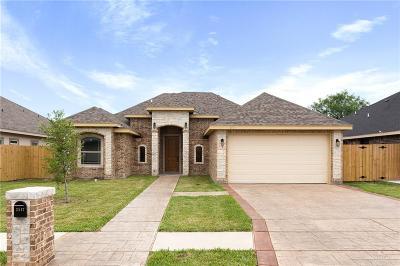 McAllen TX Single Family Home For Sale: $240,000