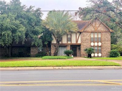 McAllen Single Family Home For Sale: 412 S McColl Road