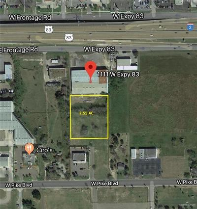 Weslaco Residential Lots & Land For Sale: 1310 W Pike Boulevard