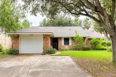 McAllen Single Family Home For Sale: 4121 W Carnation Avenue