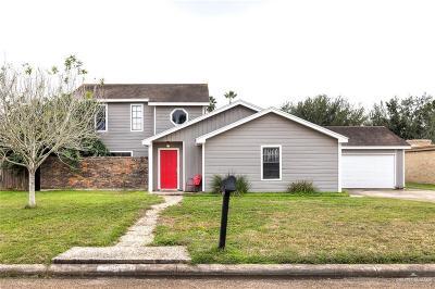 Edinburg Single Family Home For Sale: 1014 Tori Lane